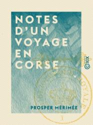 Notes d'un voyage en Corse